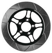 Lyndall Racing Brakes Smooth Triang Racing Rotor - 11,8in. - Chrome - 737-0227