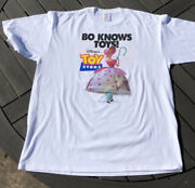 Vintage Totally Toy Story Tee Andldquobo Knows Toysandrdquo