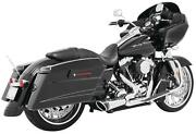 Freedom Performance Combat 21 Shorty Exhaust System - Chrome/black - Hd00817