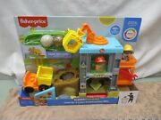 Fisher Price Little People New Load Up Learn Construction Site Ramp Dump Truck