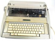 Brother Sx-4000 Portable Electronic Lcd Typewriter No Cover Parts As-is