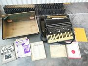 Accordion Italy American Un Branded For Repair Restoration And Or Parts Decor