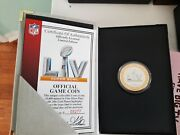 Super Bowl 55 Official Game Coin Limited Edition 933 Highland Mint With Case
