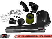 Awe Tuning S-flo Closed Carbon Fiber Intake Fits 2017-2020 Audi Rs3/ 17-19 Tt Rs