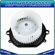 Hvac Heater Blower Motor With Fan Cage For Ford Taurus Mercury Sable Front Us