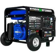 Duromax Gasoline/propane Generator 12000w Electric Start Rv/home Back-up Ready