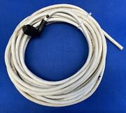 Raymarine Raytheon 2kw Analog Radar Cable Cut W/ Right Angle Connector 48andrsquo