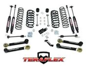 Teraflex 4 Suspension Lift Kit W/ 4 Arms And Shocks For And03997-and03906 Jeep Wrangler Tj