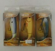 3 River2sea Whopper Plopper 90 Top Water Prop Bait Fishing Lures Lot Of 3