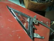 1968 Ford Mustang Drivers Side Vent Window Assy Clear