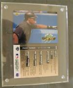 1993 Frank Thomas Upper Deck Baseball Authenticated Signed Uda Auto Triple Crown