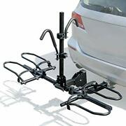 Leader Accessories 2-bike Platform Style Hitch Bike Rack With 2 Hitch Receiver