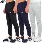 Nike Mens Jogger Athletic Regular Fit French Terry Draw String Fleece Sweatpants
