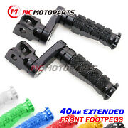40mm Adjustable R-fight Front Footpegs For 900 750 Ss 851 Strada 906 Paso -mc