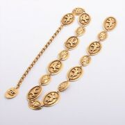 Coco Mark 687 Chain Belt Gold Plated Gold