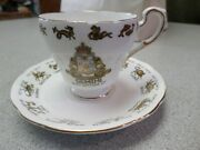 Regal Bone China England Signs Of The Zodiac Gemini Cup And Saucer Set