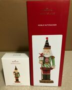 Hallmark Noble Nutcracker Of The Forest Ornament And Table Top Decoration