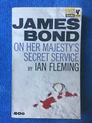 Ian Fleming 007 / On Her Majestyand039s Secret Service Rare 1st Edition / 1st Print