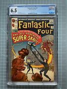 Fantastic Four 18 Cgc 6.5 - First Appearance Of Super Skrull