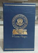 Ronald Reagan Speaking My Mind Simon Schuster Signed Limited Ed. 1064/5000
