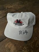 American Pickers Antique Archaeology Signed Mike Wolfe Rare Canvas Stone Hat