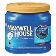 Maxwell House Ground Coffee Original Roast 6 Canisters Mwh04648ct