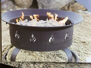 New Beacon Leisure Portable Gas Fire Bowl. Outdoor Use Only. Fire Pit.