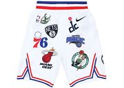 Supreme Nike Nba Authentic Teams Shorts White 38 Medium/large Brand New In Bag