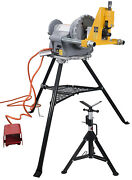 Reconditioned Ridgidandreg 300 Power Drive And Steel Dragon Toolsandreg 915 Roll Groover