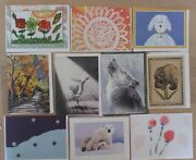 100 Note Cards, Blank Inside, 2 Each Of 50 Designs, Greeting Cards And Envelopes