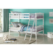Homestead Twin/twin Bunk Bed White