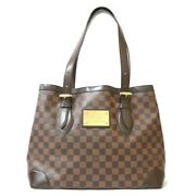 Louis Vuitton Damier Humsted Pm N51204 Hand Bag From Japan 1744