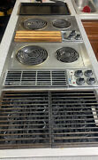 Vintage Jenn-air M300 47in Electric Downdraft Cooktop Griddle/grill Working