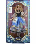 Disney Limited Edition Alice In Wonderland Doll By Mary Blair 70th Anniversary
