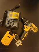 Dewalt 20v Max Xr Brushless 1/2 Cordless Drill/driver W/ Battery And Charger