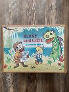 1961 Beany And Cecil Vinyl Vintage Lunch Box With Thermos