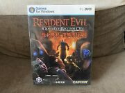 Resident Evil Operation Raccoon City - Chinese Big Box Edition Pc New And Sealed