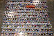 Hot Wheels, Mixed Lot Of 215 Die Cast Cars New