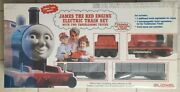 James The Red Engine Lionel Electric Train Set - W/2 Troublesome Trucks