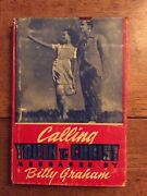 Rare Calling Youth To Christ 1947 Billy Graham Christian Youth Ministry