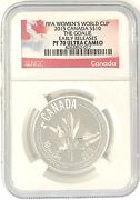 2015 Canada 10 Fifa Womenandrsquos Wld Cup The Goalie Er Ngc Pf 70 Ultra Cameo