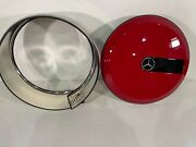 2019/2020/2021 Mercedes G63 Spare Tire Cover - Oem - Red