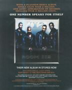 Sfbk53 Poster Advert 13x11 112 Room 112 Album Ft Puff Dadddy And Lil' Kim