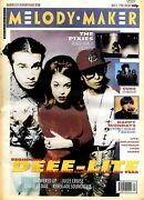 K1 Melody Maker Newspaper Cover Page 15x11 Deee - Lite 3/11/1990