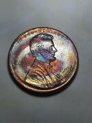 1996 D Lincoln Memorial Cent / Penny Tone / Toning