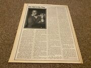 Srs162p16 Article And Pictures Frank Sinatra, He Did It His Way