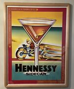 Hennessy Sidecar Vintage 1998 Advertising Poster,36x48