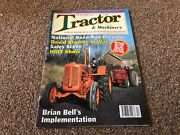 Tractor And Machinery Magazine 1998 Apr David Browns At War, American Classics