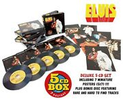 Elvis Boxset100 Super Rock French Edition Cover Includes 5 Cd 7 Poster Sealed