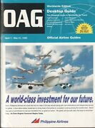 Oag Official Airline Guide Timetable 1996/04/07 Worldwide Edition